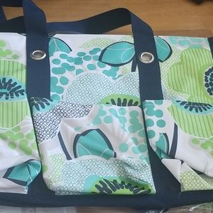 Thirty-one Zip Top Organizing Utility Tote